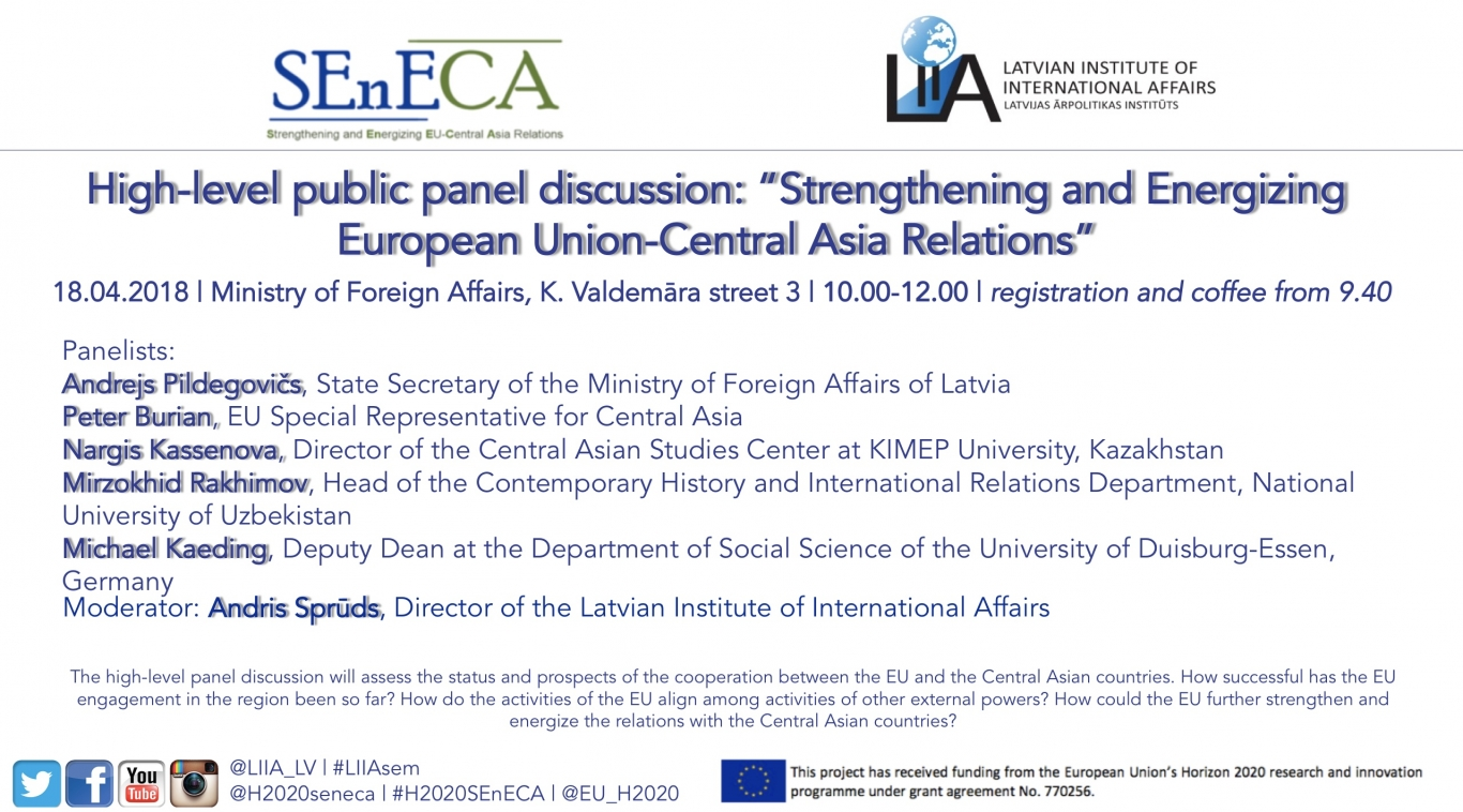 High Level Public Discussion Strengthening And Energizing European